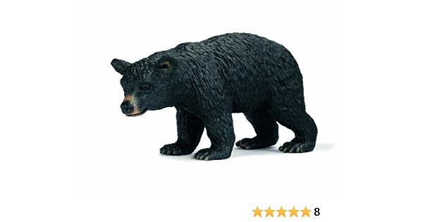 Schleich OURS NOIR /& Cub solide Jouet en plastique Wild Zoo Forest Animal nouveau
