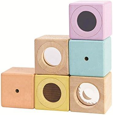 Plan Toys - Blocs sensoriels - Bois - PT5257 | Online Store