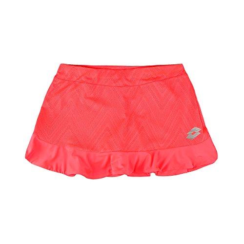 Lotto Nixia IV Skirt G Damen, Mädchen, Pink (PNK FL)