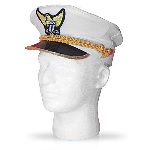 Marineadmiralsmütze von Dress Up America – für (Halloween Erkennbar Kostüme)