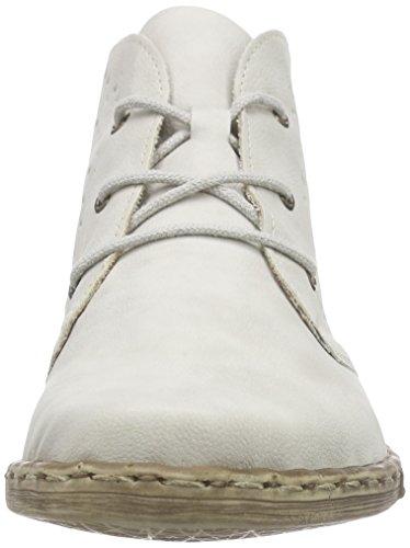 Rieker M1846 Damen Kurzschaft Stiefel Weiß (ice / 80)