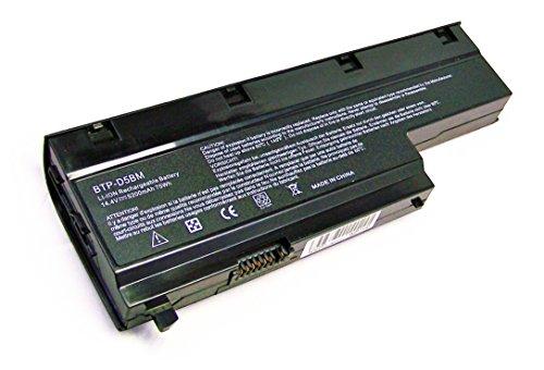 14.4V 5200mAh Neue Laptop akku Batterie BTP-D5BM,BTP-D4BM für Medion Akoya E7211,E7212,E7214,E7216,Medion MD97476,MD98160,MD98360,MD98410,MD97860,MD97513,MD97772,MD98550,MD98580,MD97800,P7611,P7612,P7614,P7615,P7618,P7810,MD97648,MD97476