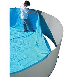 TOI - Liner de 120cm de alto para piscinas ovaladas - 640x366x120