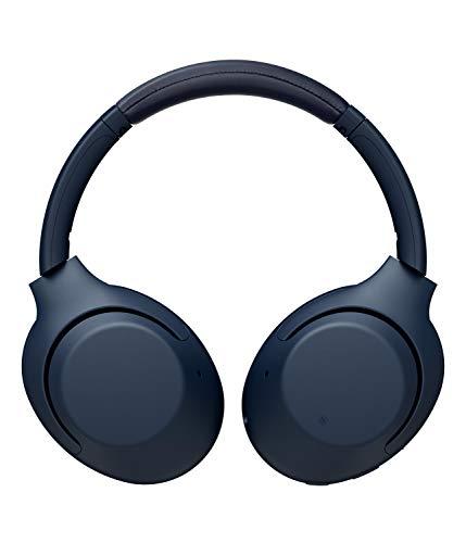 Sony WH-XB900N Bluetooth Noise Cancelling Kopfhörer (Extra Bass,30h Akku, Amazon Alexa & Google Assistant, Gestensteuerung) Blau - 3