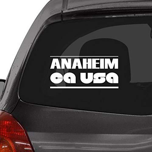 Anaheim Ca Usa Window Vinyl Decal Stickerfor Cars, Trucks, Windows, Walls, Laptops -