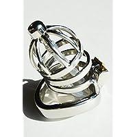 Edelstahl Keuschheitskäfig mit Dilator Male Chastity Cage with 13mm Removable Urethra Tube (Ring Ø 45 mm) preisvergleich bei billige-tabletten.eu