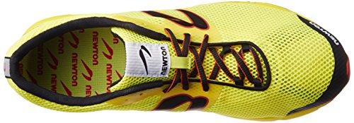 """Newton Herren Runningschuh """"Distance Elite Racer"""" Yellow/Red"""