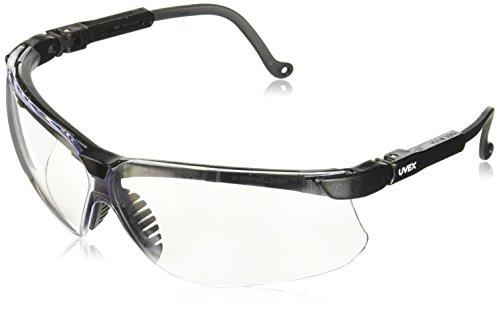Uvex S1908 Skyper Safety Eyewear, Nero Frame, Shade 5.0 Infra-Dura Ultra-Dura Hardcoat Lens