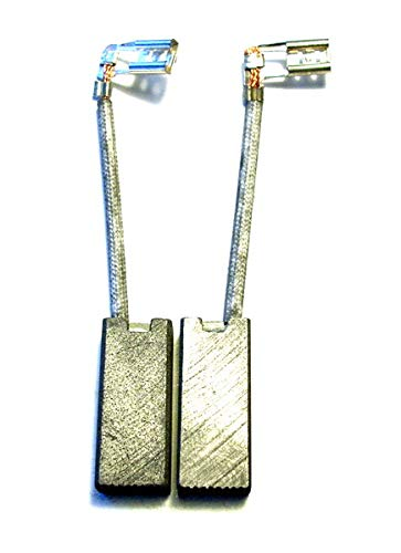pennelli a carbone gomes, compatible elu bh 45 ek, bh 46 ea(type1)