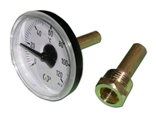 Bimetall Thermometer 1/2