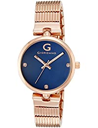 Giordano Analog Blue Dial Women's Watch - A2058-55
