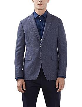 ESPRIT Collection Herren Sakko Blau