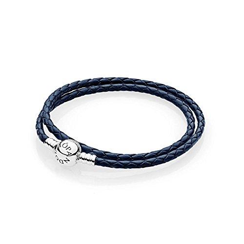 Pandora bracciali di corda donna argento - 590745cdb-d1
