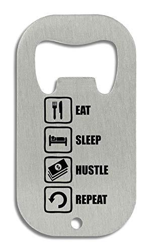 LukeTee Eat Sleep Hustle Repeat Dope Money Graphic Flaschenöffner