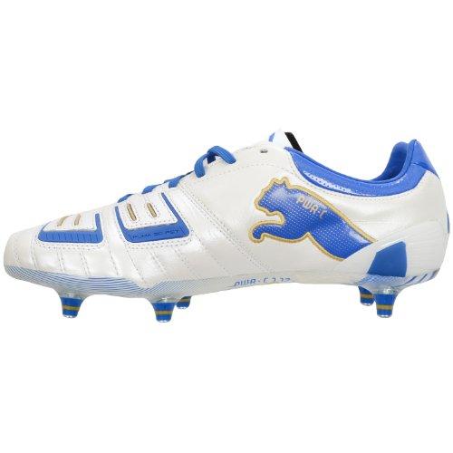 Puma PowerCat 1.12 SG 102469, Scarpe da calcio uomo White/Blue