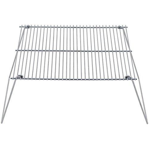 bkl1 ® grille acier pliable Feu de Camp camping Bouilloire Outdoor 1602
