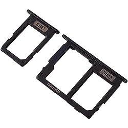 Tiroirs pour carte SIM 1, carte SIM 2 et carte mémoire micro SD - Pour Samsung Galaxy J530 (J5 2017) J730 (J7 2017)
