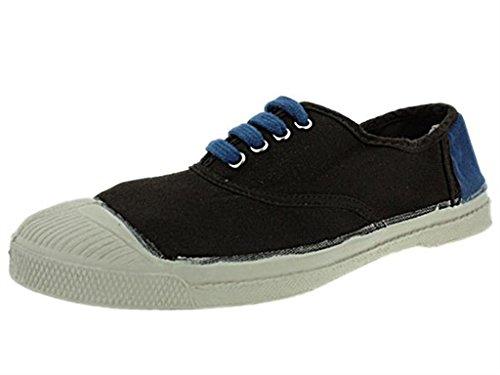 baskets bensimon colorparts marron bleu, femme bensimon i81ben040 Marron