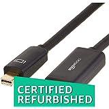 (CERTIFIED REFURBISHED) AmazonBasics Mini DisplayPort To HDMI Adapter - 10 Feet