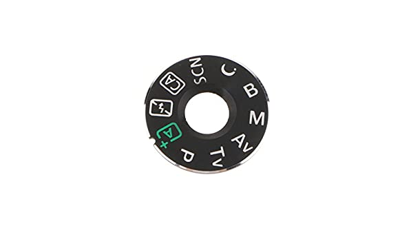 KESOTO Matal Function Dial Mode Plate Interface Cap Cover Button Label Nameplate for Canon EOS 70D DSLR