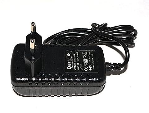Yultek remplacement adaptateur 9V 200mA secteur AC pour l'alarme Bush double Docker DAB Radio