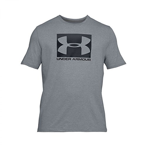 Under Armour Herren Ua Boxed Sportstyle Ss Kurzarmshirt steel light heather-graphite-black (1305660-035)