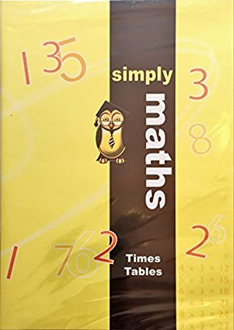 Simply Maths - Times Tables DVD to accompany the Simply Maths Study Program