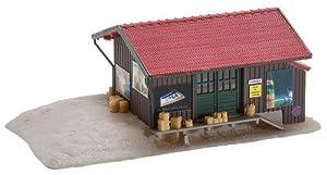Faller - Edificio para modelismo ferroviario escala 1:148 (4.4x11.5x5.2 cm)