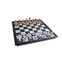 Magnetisches-Brettspiel-kompakte-Reisegre-Schach-magnetische-Spielsteine-Spielbrett-zusammenklappbar-20x20x2cm-Mod-SC5410-A-DE Quantum Abacus Magnetisches Brettspiel (kompakte Reisegröße): Schach – magnetische Spielsteine, Spielbrett zusammenklappbar, 20x20x2cm, Mod. SC5410-A (DE) -