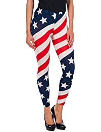 Intimax Usa, Leggings Para Mujer, Rojo, S/M