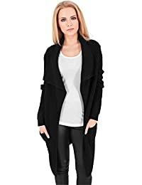 Urban Classics Mantel Knitted Long Cape, Chaqueta para Mujer