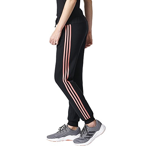 adidas Damen Essentials 3-Streifen Hose, Black/Tacros, LL Preisvergleich
