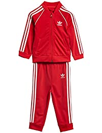 adidas ce1979insieme di Sport Bambino bambini CE1979 rosso scarlatto FR ...