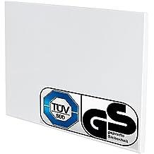 TecTake Calefacción por infrarrojos ¡Incluye soporte de pared! - varias tamaños - (270 Vatios | No. 401071)