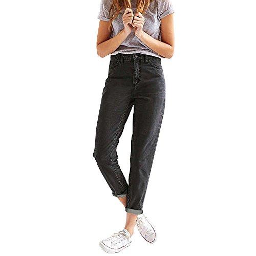 JMETRIC Damen Jeans| Jeanshose|Gerade Jeans|Lose Hosen|Lose...