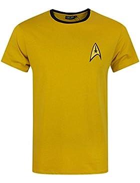 Official Star Trek Command Uniform Men's T-Shirt (L)