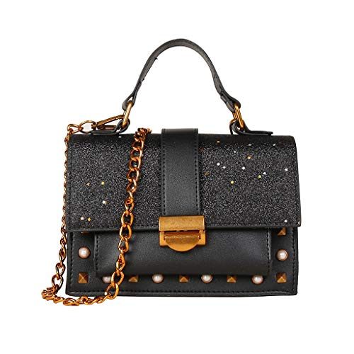Mitlfuny handbemalte Ledertasche, Schultertasche, Geschenk, Handgefertigte Tasche,Frauen Wild Messenger Bag Fashion One-Shoulder Kleine quadratische Tasche