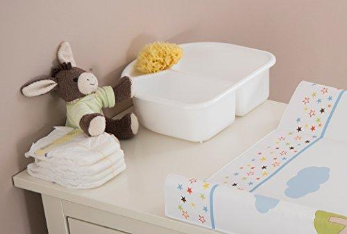 Imagen 3 de Rotho Babydesign 20006 0020 Top - Palangana con 2 compartimentos, color azul oscuro