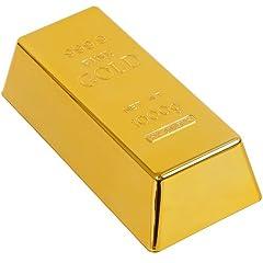 Idea Regalo - GreatGadgets 8028 - Fermaporta a lingotto d'oro