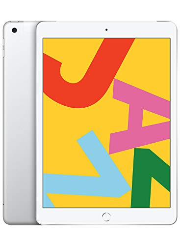 Nouvel Apple iPad (10,2 pouces, Wi-Fi + Cellular, 128Go) - Argent