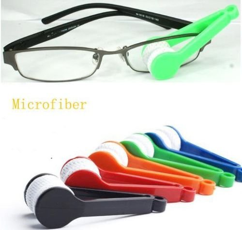CONNECTWIDE® EYE GLASS CLEANER -Cleaner Brush Cleaning Tool for Glasses,Sunglasses Eyeglass, Microfiber, Spectacles 1 Pcs ,Size ;(2.5*7*2 cm)  available at amazon for Rs.150
