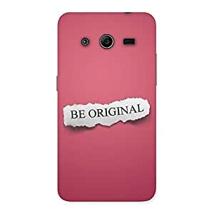 Cute Be Orignal Multicolor Back Case Cover for Galaxy Core 2