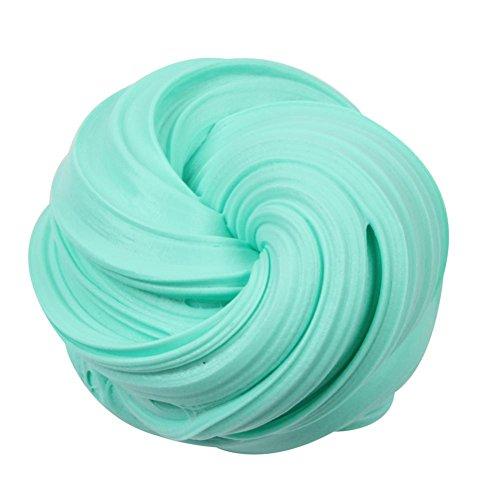 Fat.chot 50 ml weicher Feen-Wolken-Schleim, DIY-Ton, parfümiert, Süßigkeiten-Farbe, Schlamm, matschig, Stressabbau, Schlamm-Spielzeug, perfektes Geschenk für Kinder und Erwachsene., himmelblau, S