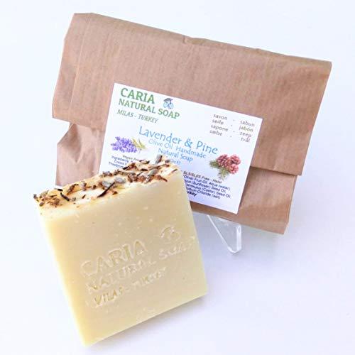 Caria Natural Handseife, Lavendel und Kiefer, 100 g