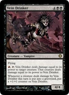 Magic: the Gathering - Vein Drinker - Shards of Alara - Foil by Magic: the Gathering