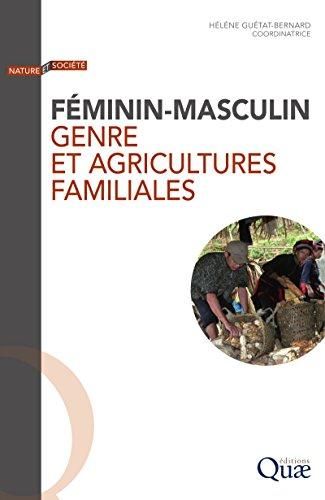 Couverture du livre Féminin-masculin: Genre et agricultures familiales