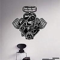 Czxmp Máquina Automática Calcomanía De Pared Motor Motor Etiqueta De Vinilo Interior Del Hogar Decoración De