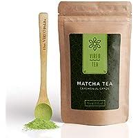 Te Verde Uji Matcha Japonés | Te Ceremonial Vireo 100g | Potenciado natural del metabolismo y la concentración. | Pérdida de peso | Desintoxicación | Acompañado de Antioxidantes | Con regalo de cuchara de babú.