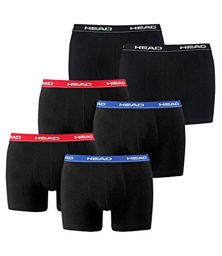 head-herren-boxershorts-841001001-6er-pack-waschegrosselartikel2x2er-red-blue-1x2er-black