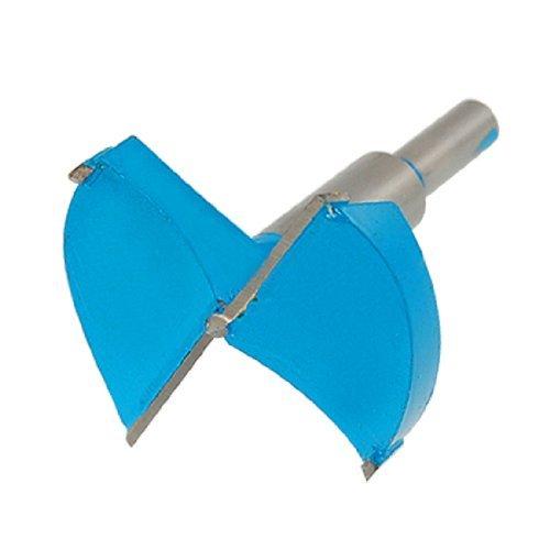 DealMux Zimmerei 65mm Tip Blau Grau Metall Scharnier Boring Bohrer